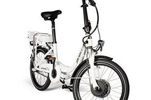 e bike faltrad in weiss unisex elektrofahrrad mit 20 zoll 508 cm reifengroesse fahrrad mit 3 gang nabenschaltung stadtrad by provelo 310x205 - E-Bike Faltrad in weiß   Unisex   Elektrofahrrad mit 20 Zoll (50,8 cm) Reifengröße   Fahrrad mit 3 Gang Nabenschaltung   Stadtrad   by Provelo
