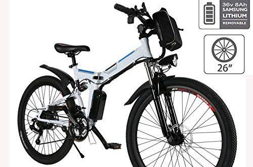 "hiriyt e bike mountainbike 250w 36v ruecken 7 gang getriebesystem faltrad fahrrad grosse kapazitaet pedelec mit lithium akku und ladegeraet weiss26 500x330 - Hiriyt E-Bike Mountainbike, 250W, 36V, Rücken 7-Gang Getriebesystem Faltrad Fahrrad, Große Kapazität Pedelec mit Lithium-Akku und Ladegerät (Weiß,26"")"