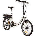 REMINGTON City Folder 20 Zoll Faltrad E-Bike Klapprad Pedelec StVZO Elektrofaltrad, Farbe:Weiss