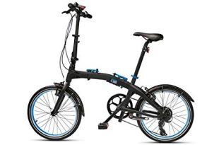 original bmw folding bike fahrrad klapprad faltrad schwarz blau groesse m 310x205 - Original BMW Folding Bike Fahrrad Klapprad Faltrad schwarz/blau Größe M