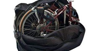 41A7erWhwL 310x165 - StillCool Fahrradtransporttasche 14 to 20-inch Faltrad Tasche Schutzhülle Transporttasche Fahrrad Rennrad Transporttasche (Schwarz)