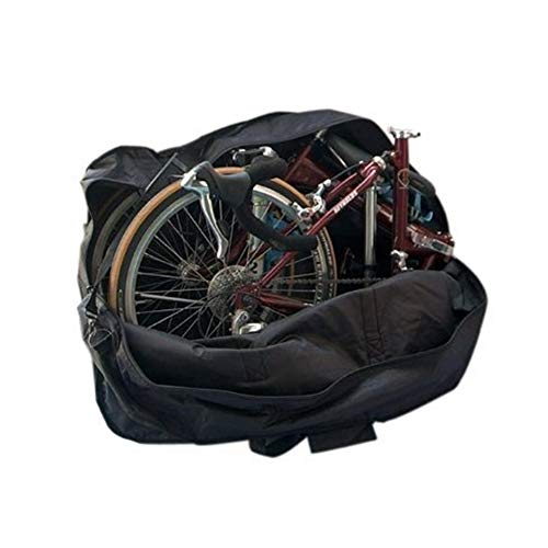 StillCool Fahrradtransporttasche 14 to 20-inch Faltrad Tasche Schutzhülle Transporttasche Fahrrad Rennrad Transporttasche (Schwarz)