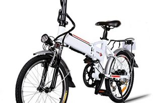 Elektrofahrraeder 36V 8AH Lithium Batterie Faltrad MTB Mountainbike E Bike 7 310x205 - Elektrofahrräder 36V 8AH Lithium Batterie Faltrad MTB Mountainbike E-Bike 7 Speed Fahrrad Intelligence Elektrofahrrad (Weiß, 20 Zoll)