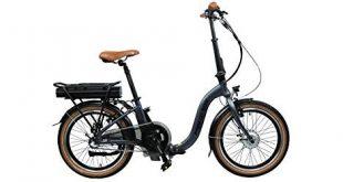 Blaupunkt FRANZI 500 | Falt-E-Bike, Tiefeinsteiger, Klapprad, StVZO, 20 Zoll, leicht, Klapprad, Faltrad, e-bike, kompakt